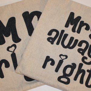 Linen Throw Pillow Covers